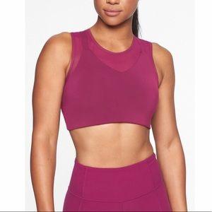 Magenta Athleta sports bra size M. Worn once!